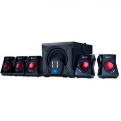 Genius SW-G5.1 3500 5.1 hangszóró fekete hangszóró
