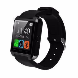 iTotal Uwatch8 magyar menü, TFT LCD, Bluetooth fekete okosóra