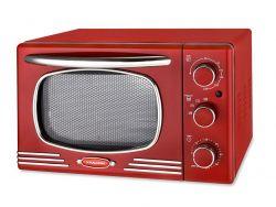 Kalorik OT2500R Retro 1300 W, 19.5L, piros grillsütő