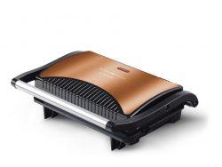 Kalorik SWP1050CO Copper Line 700 W, 143 x 230 mm grill lap, arany-fekete grill
