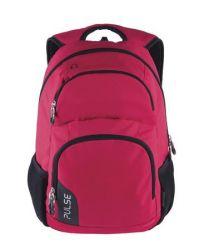PULSE Element piros-fekete hátizsák notebook tartóval