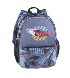 PULSE Junior Red-Speed kék-szürke hátizsák