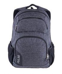PULSE Element szürke-fekete hátizsák notebook tartóval
