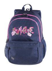 PULSE Spin Jeans Smile farmer-rózsaszín hátizsák