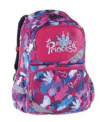 PULSE Anatomic XL Castle Princess pink-kék anatómiai hátizsák
