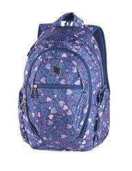 PULSE Dobby Dream of Heart kék-rózsaszín hátizsák