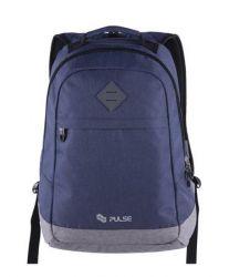 PULSE Bicolor kék-szürke hátizsák notebook tartóval