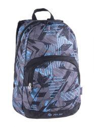 PULSE Solo Blue Cast kék-fekete-szürke hátizsák