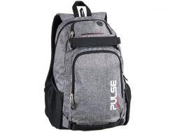 PULSE Scate szürke hátizsák notebook tartóval