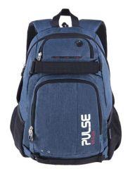 PULSE Scate sötétkék hátizsák notebook tartóval