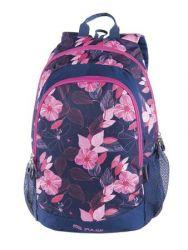 PULSE Cots Pink Garden rózsaszín virág minta hátizsák