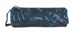 PULSE Teens Speed Drive cipzáras szürke-kék tolltartó