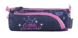 PULSE Little Princess cipzáras lila-rózsaszín tolltartó
