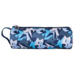 PULSE Teens Air Force kék-fehér cipzáras tolltartó