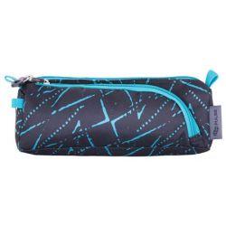 PULSE Teens Freestyle kék-szürke cipzáras tolltartó