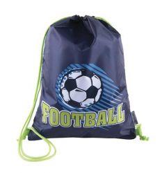 PULSE Football Time kék-zöld tornazsák