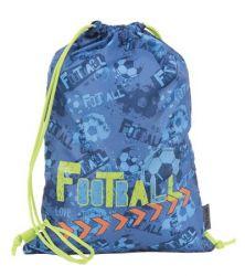 PULSE Blue Football kék tornazsák