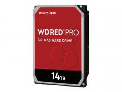 "Western Digital Red Pro WD141KFGX 3.5"" 14TB SATA3 256MB 7200RPM, 24x7 NAS merevlemez"