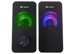 Tracer Loop 2.0 RGB USB 6W fekete hangszórók