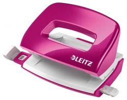"""Leitz """"Nexxt Wow"""" 10 lap, 5.5 mm fém rózsaszín mini kétlyukú lyukasztó"""