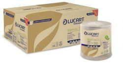 LUCART EcoNatural 155 ID 2 rétegű tekercses havanna barna kéztörlő (6 tekercs)