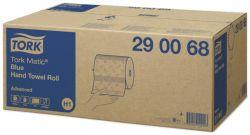 TORK Matic® H1 rendszerű 2 rétegű tekercses kék kéztörlő (6 tekercs)