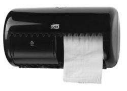 TORK Elevation T4 rendszerű fekete toalettpapír adagoló