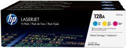 HP CF371AM (128A) tripla csomag színes toner