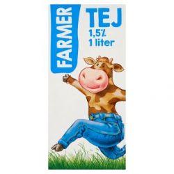 Farmer 1 l UHT (1,5%) zsírszegény tej