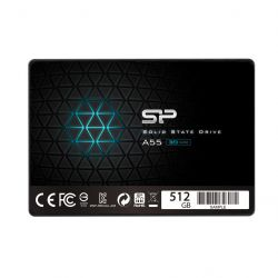 Silicon Power SSD Ace A55 512GB 2.5'' SATA III 6GB/s 560/530 MB/s 3D NAND belső SSD