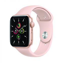 """Apple Watch SE Oled 1.73"""" 44mm GPS homokrózsaszín sportszíjas okosóra"""