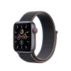 "Apple Watch SE Oled 1.57"" 40mm GPS 4G faszén sportszíjas okosóra"