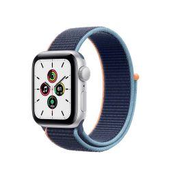 """Apple Watch SE Oled 1.57"""" 40mm GPS 4G mély tengerkék sportszíjas okosóra"""