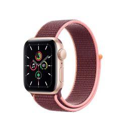 "Apple Watch SE Oled 1.57"" 40mm GPS 4G szilva sportszíjas okosóra"