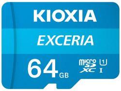 Kioxia Exceria MicroSDXC 64GB Class 10 memóriakártya