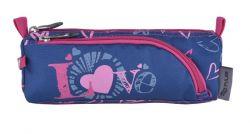 PULSE Blue Love cipzáras kék-rózsaszín tolltartó