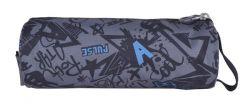 PULSE Teens Graffiti cipzáras szürke tolltartó