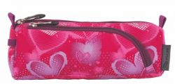 PULSE Mini Wheels Heart cipzáras rózsaszín tolltartó