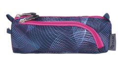 PULSE Teens Violet Universe cipzáras rózsaszín tolltartó