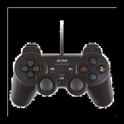 Acme GA-07 digitális rezgő fekete vezetékes gamepad