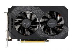 ASUS TUF Gaming NVIDIA GeForce GTX 1650 Gaming Graphics Card PCIe 3.0 4GB GDDR6 memory HDMI DisplayPort DVI-D 1x 6-pin power connect