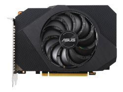ASUS Phoenix NVIDIA GeForce GTX 1650 OC Edition Gaming Graphics Card PCIe 3.0 4GB GDDR6 memory HDMI DisplayPort DVI-D 1x 6-pin power