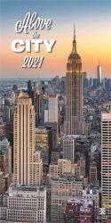 DAYLINER A Város Felett 2021 315x630 mm fali naptár