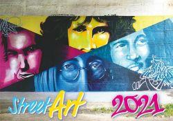 DAYLINER Street Art 2021 450x315 mm fali naptár