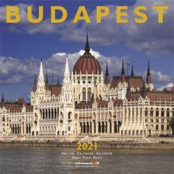 SZÁZSZORKÉP Budapest 2021 300x600 mm fali naptár