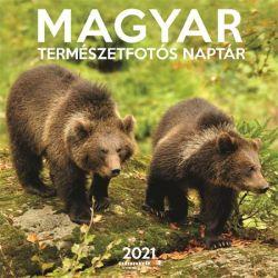 SZÁZSZORKÉP Magyar természetfotós naptár 2021 300x600 mm fali naptár
