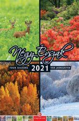 CSG Négy évszak 2021 210x320 mm fali naptár