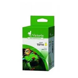 VICTORIA T07144011 5,5ml sárga utángyártott tintapatron