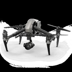 DJI Inspire 2 X5S Advanced Kit 94 km/h, LiPo akkumulátor szürke-fekete drón