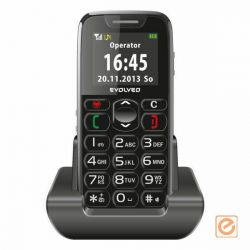 EVOLVEO Easyphone EP-500 mobiltelefon (fekete)
